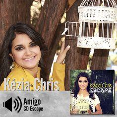 """Ouça a música """"Amigo"""" do CD Escape de Kézia Chris: http://itbmusic.com.br/site/wp-content/uploads/2013/06/01-Amigo.mp3?utm_campaign=musicas-itb&utm_medium=post-24dez&utm_source=pinterest&utm_content=kezia-amigo-player-trecho"""