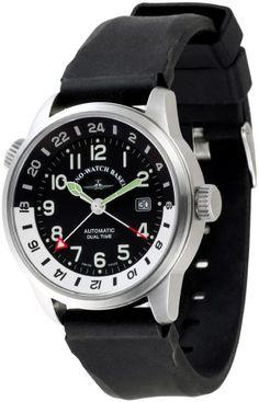 Zeno Fellow GMT (Dual Time) 6304GMT-a1. 44mm case.