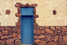The blue door, Estes Park, Colorado