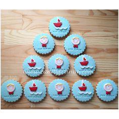 Sailor themed first birthday cookies  #sekerhamuru #butikpasta #candyfirinim  #sugarart