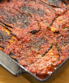 Italialainen Munakoisopaistos   Maku Ricotta Gnocchi, Lidia Bastianich, Bolognese, Risotto, Deli, Bon Appetit, Low Carb Recipes, Side Dishes, Good Food