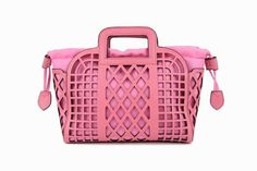 Lisay's Pink Vintage Messenger Handbag 100 Genuine by Lisaycrafts, $95.00
