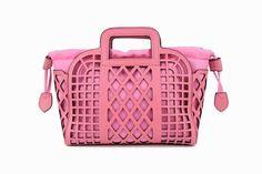 Lisay's Pink Vintage Messenger Handbag 100 Genuine by Lisaycrafts, $95.00