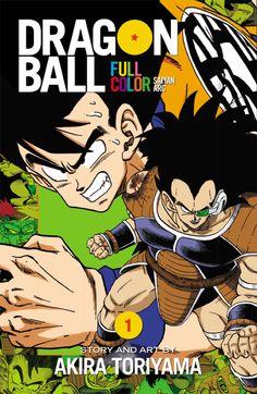 Dragon Ball Full Color, Vol. 1 by Akira Toriyama,Dragon Ball Full Color, Vol. Dbz Manga, Manga Comics, Dragon Ball Z, Saga, Viz Media, Demon King, Books For Teens, Teen Books, Color Stories