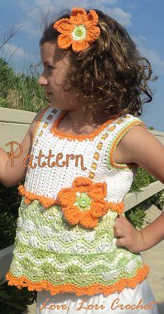 Ravelry: Citrus Daisy Zig Zag pattern by Lori Savoth