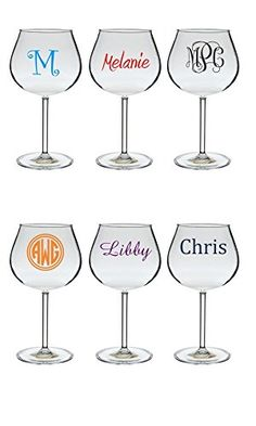 Personalized Reusable Acrylic Wine Glasses 20 oz. *** Read more reviews of the product by visiting the link on the image.(It is Amazon affiliate link) #smile