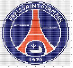 Pixel Art Logo Foot Paris