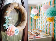 DIY party idea with streamers