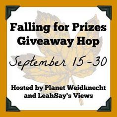 Sonyas Happenings ~ Falling For Prizes! Enter To #Win $25 iTunes, Paypal Or Amazon – #Giveaway Ends 9-30