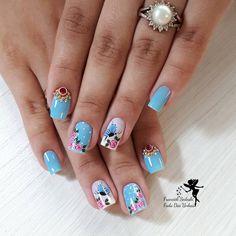 Toenail Art Designs, Cute Nail Designs, Toe Nail Art, Toe Nails, Nailart, Glitter, Instagram, Beauty, Blue Nails