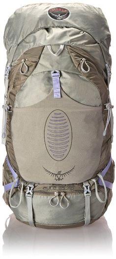 Osprey Women's Aura 65 AG Backpacks, Silver Streak, Small