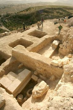 Most scholars had assumed King Herod the Great, who ruled Judea between 37 and 4 B.C., was buried at the Herodium complex in the mountains south of Jerusalem. But his final resting place remained a mystery until 2007, when archaeologists uncovered Herod's grave, elaborate sarcophagus, and mausoleum (shown here).