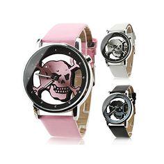 LightInTheBox Unisex Quartz Analog Hollow Skull Style Dial PU Band Wrist Watch (Assorted Colors) Designer Watch LightInTheBox http://www.amazon.ca/dp/B00NPWVNZ6/ref=cm_sw_r_pi_dp_-kGVvb0KQXGPS