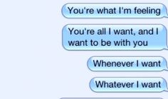 """WALTHAM """"You're Everything That I Want"""" iPhone text lyric video"""