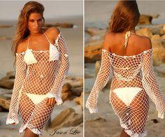 Crochet Dress Cover Up