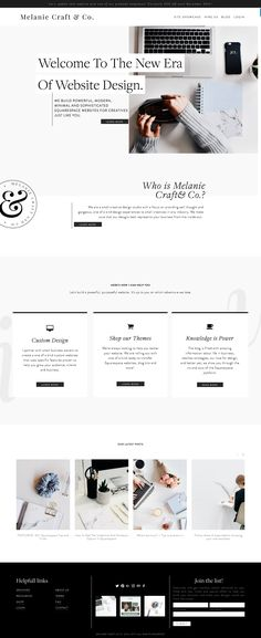 Melanie Craft and Company, a website design studio specializing in Squarespace platforms. We'll teach you how to use Squarespace to promote your business.