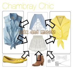"""CHAMBRAY CHIC