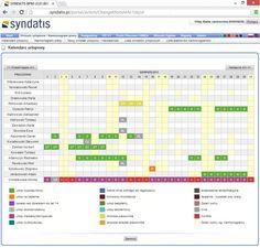 Kalendarz urlopowy, elektroniczny kalendarz urlopowy pozwala zecydowanie prościej zarządzać pracownikami w firmie. Pozwala optymalnie realizować projekty i trzymać się wyznaczonych terminów. Syndatis wprowdziło takie rozwiązanie do swojego systemu http://www.syndatis.com/rozwiazania/kalendarz-urlopowy/