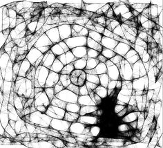 La aplicación que he utilizado para la realización de este dibujo se llama Scribbler. Trata básicamente de dibujar utilizando una linea que al moverla por la pantalla una cerca de otra se ramifican dando el efecto de tela de araña. Esta aplicación es muy básica  ya que solo trabajas con una linea a la que le das diferentes grosores y con diferentes gamas de colores.