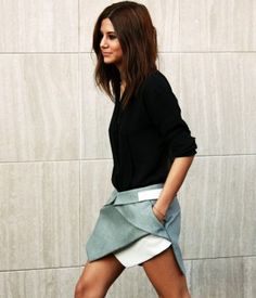 Dion Lee. Amazing skirt.