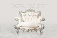 Digital Backdrop - Victorian Chair