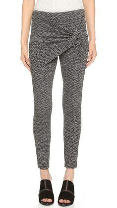 Thakoon Addition Twist Front Pants