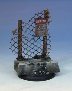 James Wappel Miniature Painting: Keep Out!!