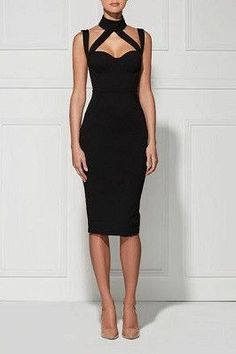 The Debonair Dress