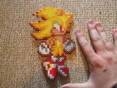 Super Sonichama beads by CrazyHamaGuyBeads