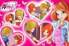 Bloom and sky Winx Magic, Les Winx, Bloom Winx Club, Disney Love, Cute Couples, Nostalgia, Disney Characters, Fictional Characters, Pokemon