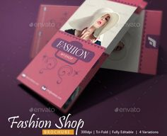 The Best Fashion Brochure Template Word PSD And InDesign - Fashion brochure templates