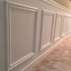 Wainscoting is installing wooden trim and panels in a pattern along the lower wall. Here are some ideas to do that in style.