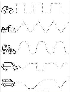 10 worksheets de grafomotricidad para imprimir. Hojas de trabajo ...