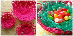 Make Your Own Easter Decorations | the kids and a few simple supplies to create your very own Easter ...