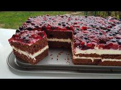 Fantastic berry cake ♥ P&S baking Traumhafter Beeren Kuchen … Swedish Apple Pie, Apple Pie Cake, German Baking, Healthy Granola Bars, Cheesecake, How To Make Pie, Berry Cake, Cake Tasting, Cake Icing