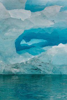 Blue Window, Arctic