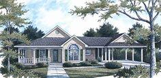 Farmhouse  Traditional   House Plan 96561