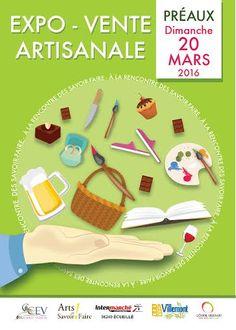 A la rencontre des savoir-faire, exposition artisanale, Préaux, Site de l'ancienne école, Dimanche 20 Mars 2016, 9h30 > 19h00