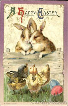 Ретро открытки с праздником Пасхи. Обсуждение на LiveInternet - Российский Сервис Онлайн-Дневников