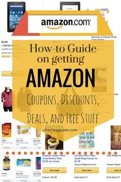 How to guide to get FREE things on Amazon coupons, deals, best prices, discounts, promo codes. How to search for the best prices and an Amazon coupon.