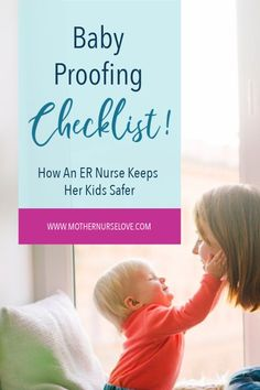 Here is a list of important baby proofing checklists and hacks to help keep your children safe. From an emergency room nurse. Parenting Toddlers, Parenting Hacks, Emergency Room Nurse, Nurse Love, Baby Hacks, Baby Tips, Mom Advice, Baby Safe, Toddler Activities