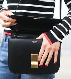 clochet fashion blog | celine classic box bag