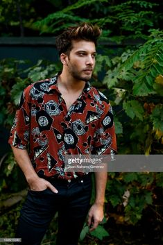Blas Canto poses during a portrait session on August 2018 in Madrid, Spain. Auryn, Editorial News, Sexy Men, Madrid, Crushes, Men Casual, Poses, Stock Photos, Actors