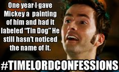 #TimelordConfessions