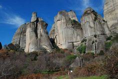 Μετέωρα - Half Dome, Mount Rushmore, Greece, Mountains, Nature, Travel, Greece Country, Naturaleza, Viajes