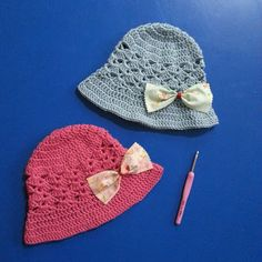 I want to make this pretty hat soon by DD Hines  This looks like a terrific pattern!   :) ~Lee Ann
