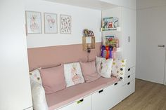 Ikea Kids Bedroom, Small Room Design Bedroom, Girls Bedroom, Big Girl Rooms, Boy Room, Chill Out Room, Scandinavian Kids Rooms, Ikea Furniture, Room Inspiration