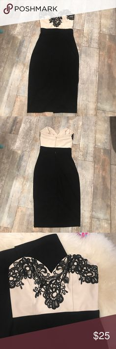 Lipsy london bodycon Uk2/us0 Used once open to offers all sales are final ASOS Dresses Midi