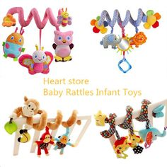 2015 Soft Spiral Activity Stroller Car Seat Cot  Lathe Hanging Babyplay Travel Toys Newborn Baby Rattles Infant Toys New Arrival Hi Mommy! - All Discounted Baby Stuff. #babyproducts  #babycare