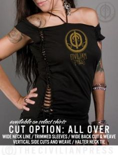 Civilian Press-All Over Shirt Cut photo civilian-press-women-fashion-shirt-cutting-allover-sexy.jpg